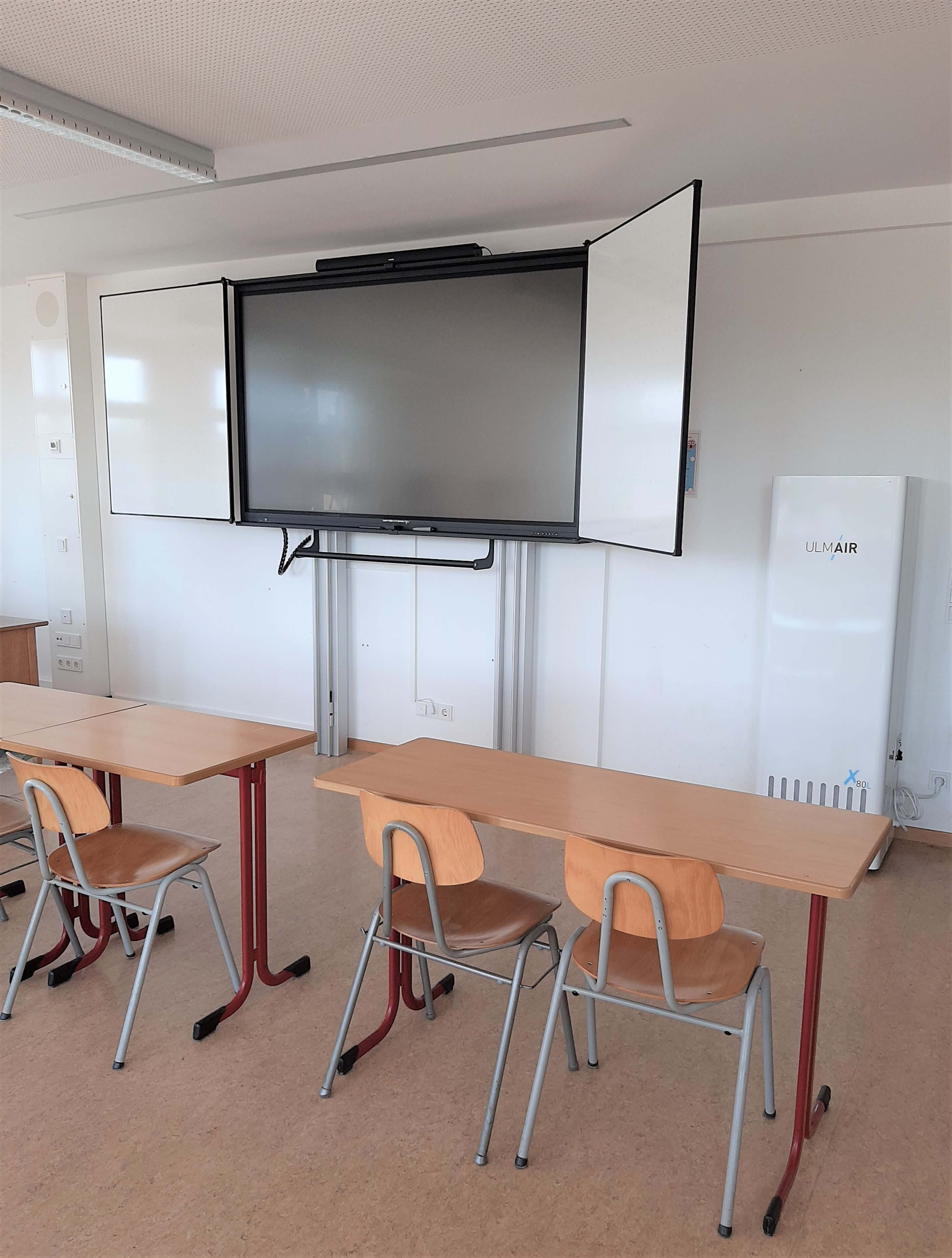 Seligenthal startet mit Luftfiltern zum Schulbeginn   Gymnasium